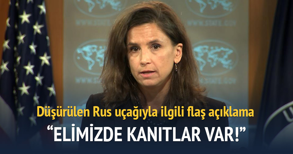 ABD: Rus uçağıyla ilgili elimizde kanıtlar var
