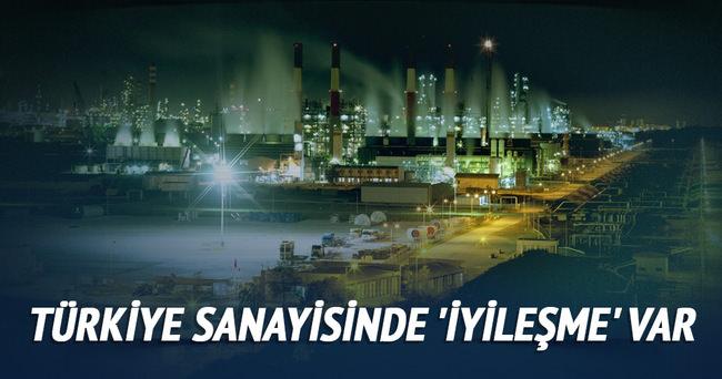 Türkiye sanayisinde 'iyileşme' var