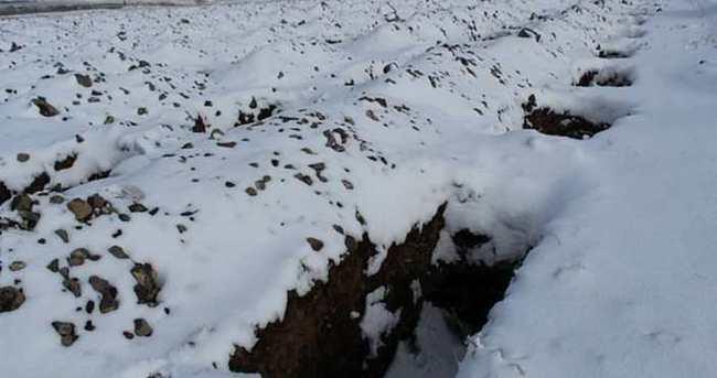 Erzurum'da bin 800 mezar kazıldı !