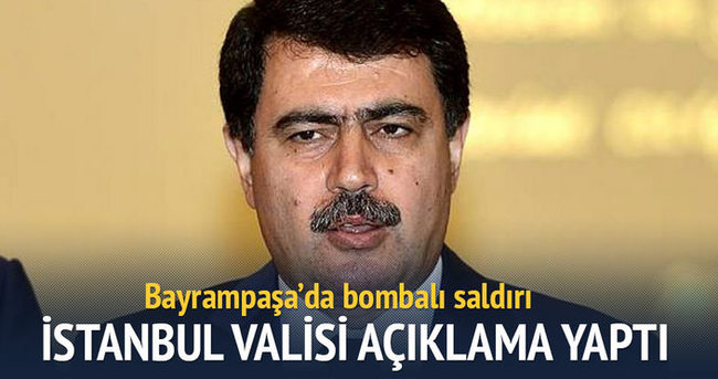 İstanbul Valisi'nden açıklama