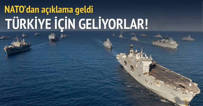 NATO açıkladı! Türkiye için geliyorlar