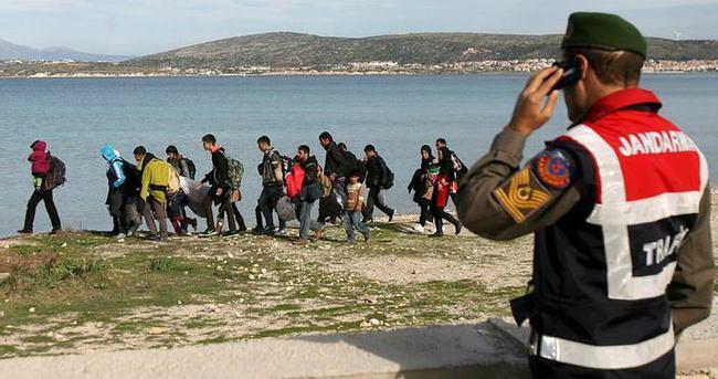 İnsan kaçakçılarına 14 tutuklama