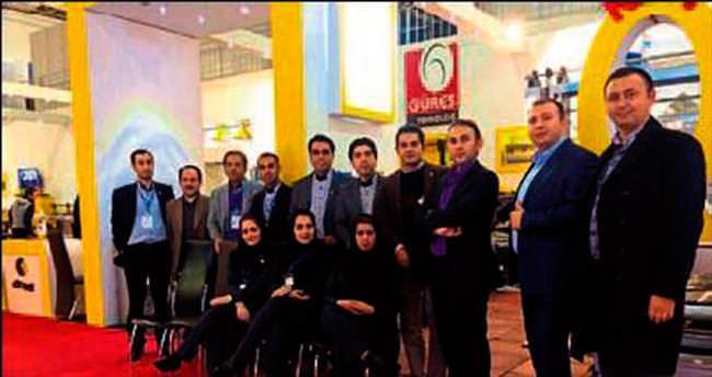 Güres, İran'daki fuarda ilgi gördü