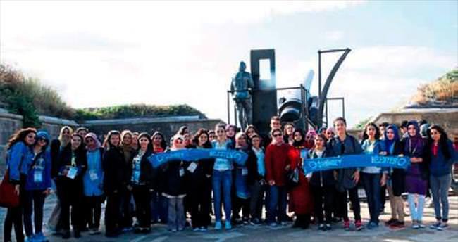 Şahinbey öğrencileri Çanakkale'ye taşıdı