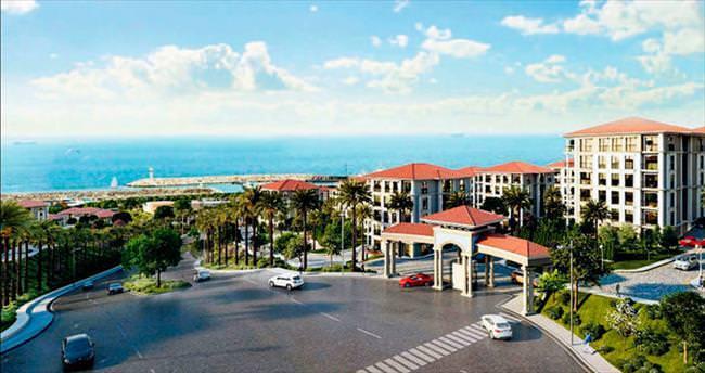 Sahile 1 milyar dolarlık dev kasaba