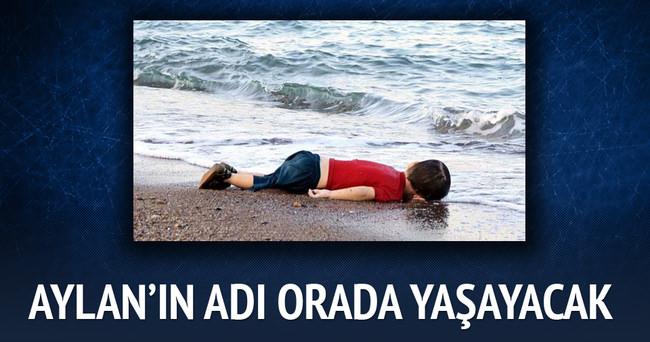 Aylan Kurdi'nin ismi öldüğü sahilde yaşatılacak
