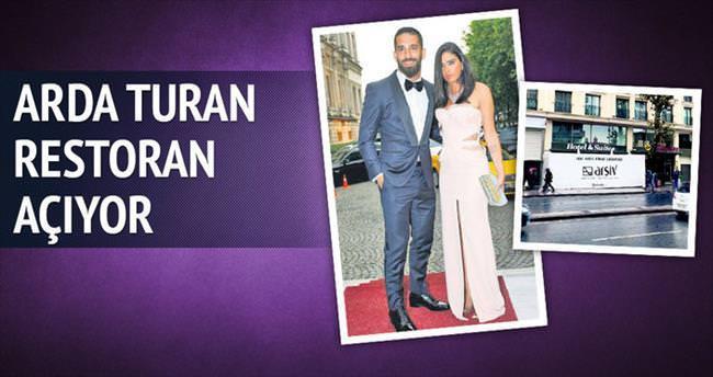 Arda Turan restoran açıyor