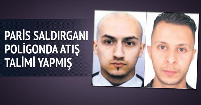 Paris saldırganı poligonda atış talimi yapmış