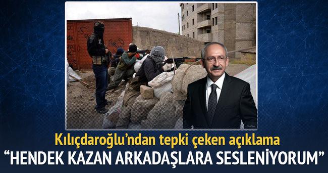 Kılıçdaroğlu: Barikat kuran arkadaşlara sesleniyorum, kaldırın