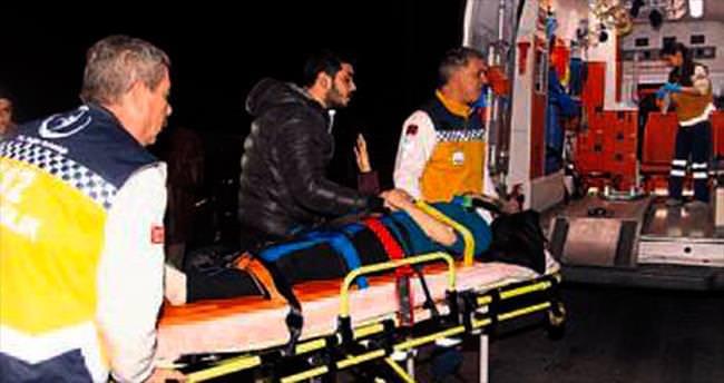 Balçova'da trafik kazası: 5 yaralı