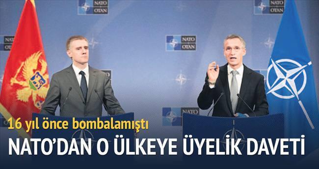 NATO'dan, bombaladığı Karadağ'a üyelik daveti