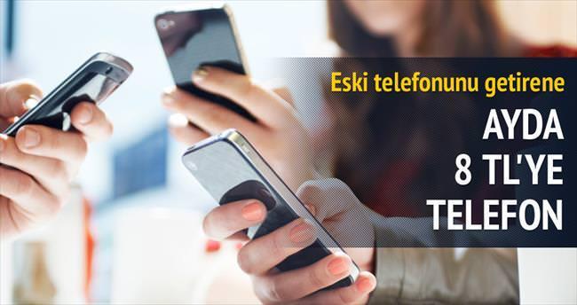 Ayda 8 TL'ye 4.5G telefon