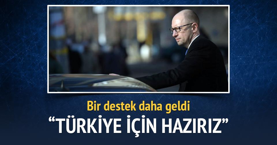 Ukrayna: Türkiye'ye omuz vermeye hazırız