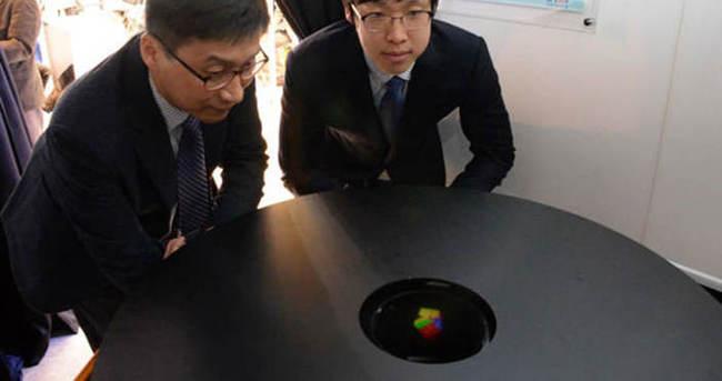 Dünyanın ilk renkli 3 boyutlu hologramı geliştirildi