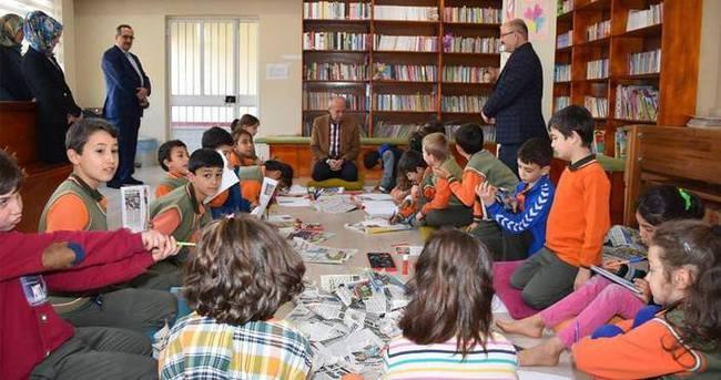 Çocuklar 'tematik kütüphane'de hayatı öğreniyor