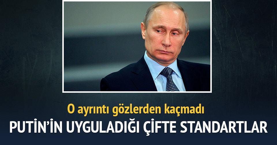 Rus dış politikasının 'çifte standartları'