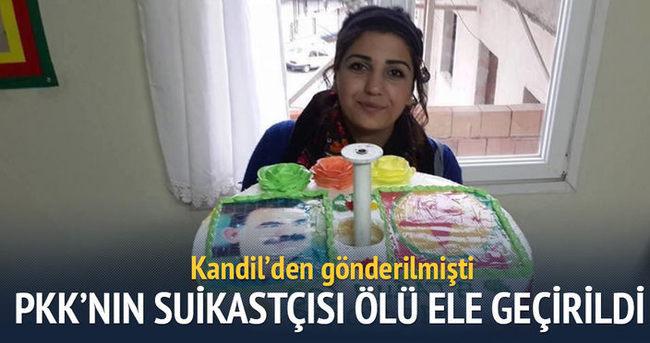 PKK'nın suikastçısı ölü ele geçirildi