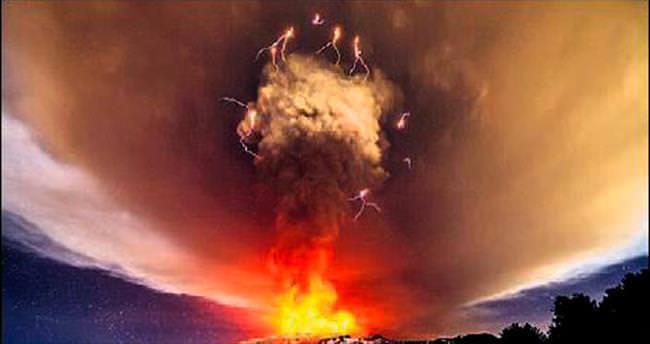 Etna patladı, havalimanı kapatıldı