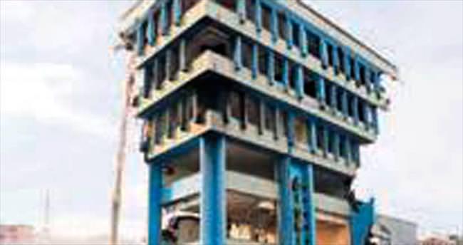 İSKİ binasının yıkımı tamamlandı
