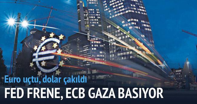 Fed frene, ECB gaza basıyor