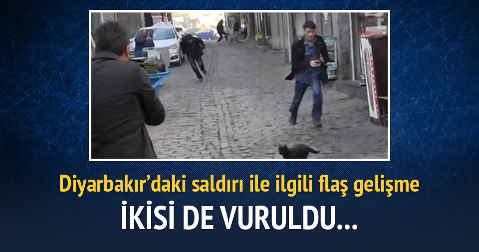 İki terörist de vurulmuş
