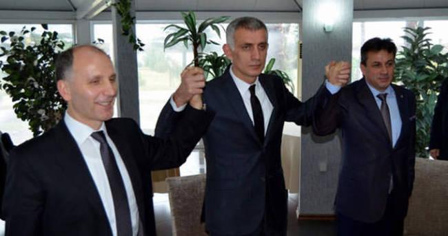 Trabzonspor'da başkan adayları bir araya geldi