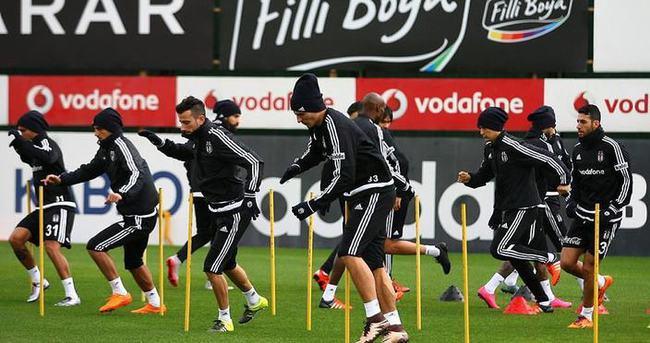 Beşiktaş, Kayserispor maçına hazır