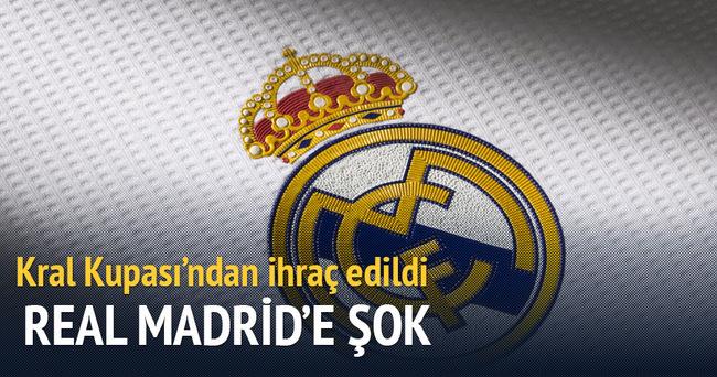 Real Madrid, Kral Kupası'ndan ihraç edildi