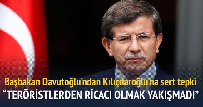 Davutoğlu'ndan Kılıçdaroğlu'na 'hendek kazan arkadaş' tepkisi