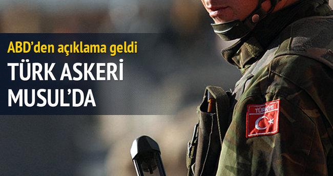 Türk askeri Musul'da