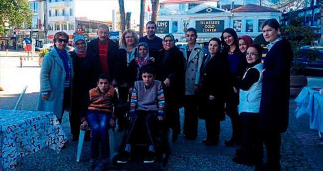 Fethiye Evi'nden engelliye destek