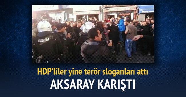 HDP'nin izinsiz yürüyüşüne müdahale başladı