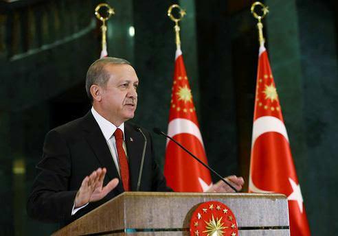 Erdoğan'dan Aliyev'e taziye mesajı