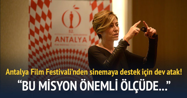 Antalya Film Festivali'nden sinemaya destek için dev atak!