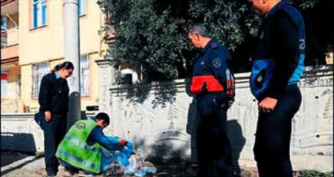 Zamansız çöp çıkaran para cezası