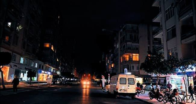 Toros Caddesi karanlığa mahkum