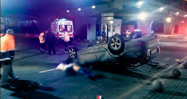 Yenimahalle'deki kazada 1 kişi öldü