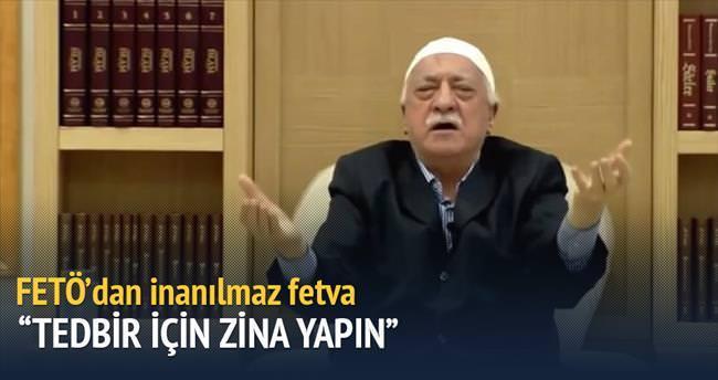 Gülen'den askere zina izni