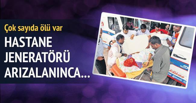 Hastane jeneratörü durdu: 18 ölü