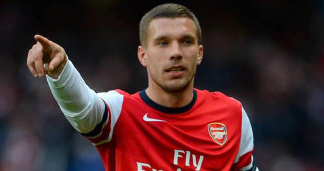 Lukas Podolski davranışıyla şaşırttı