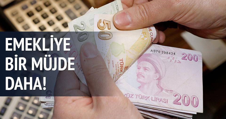 Emekliye en az 300 lira promosyon