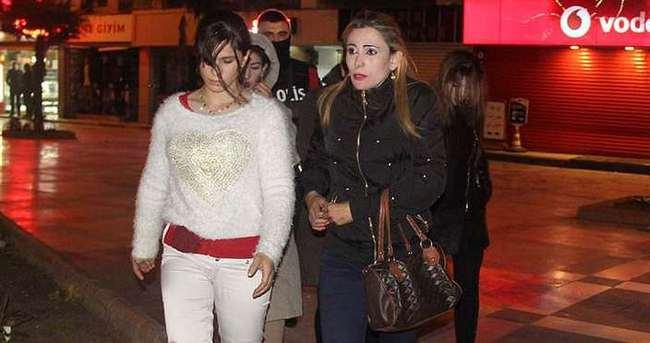 50 Suriyeli kadın gözaltına alındı