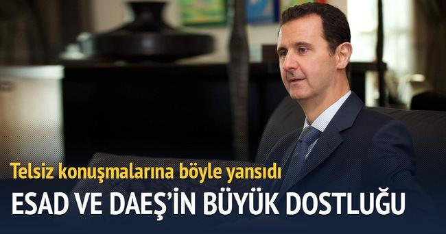 Esad ile DAEŞ'in enerji dostluğu