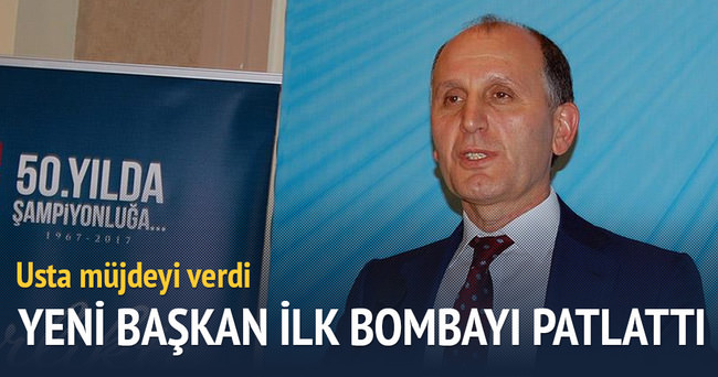 Trabzonspor'un yeni başkanı bombayı patlattı