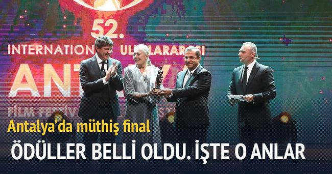 Antalya Film Festivali muhteşem törenle sona erdi