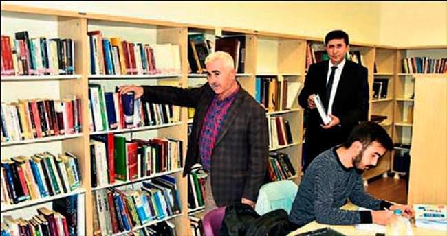Demre'ye yeni Halk Kütüphanesi açıldı
