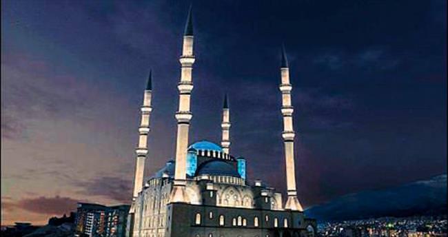 Abdulhamithan Camisi led ışıklarla parlayacak
