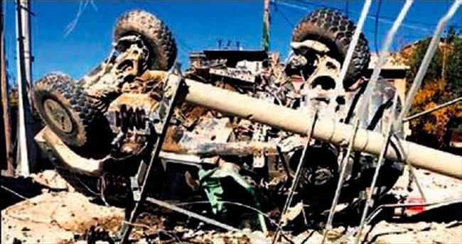Nusaybin'de bombalı saldırı: 6 asker yaralı