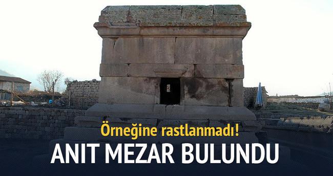Karaman'da tapınak bulundu