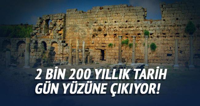2 bin 200 yıllık tarih gün yüzüne çıkartılacak